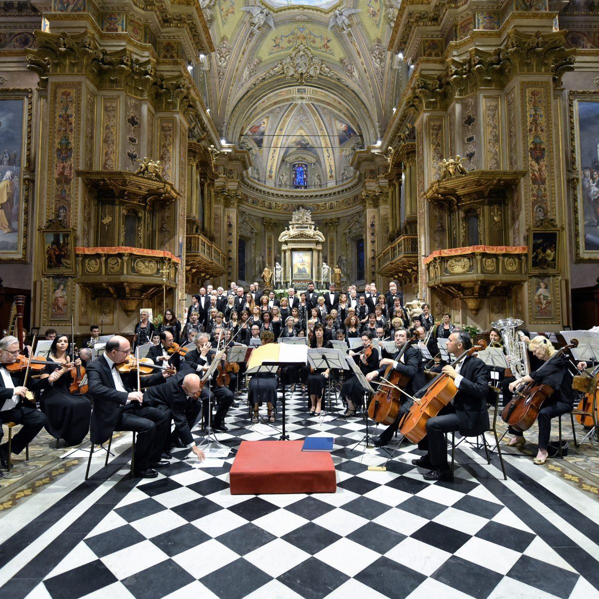 Coro e Orchestra Amadeus al Santuario di Rho