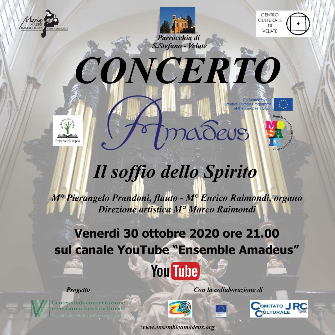 Première Il soffio dello Spirito (r)- Amadeus