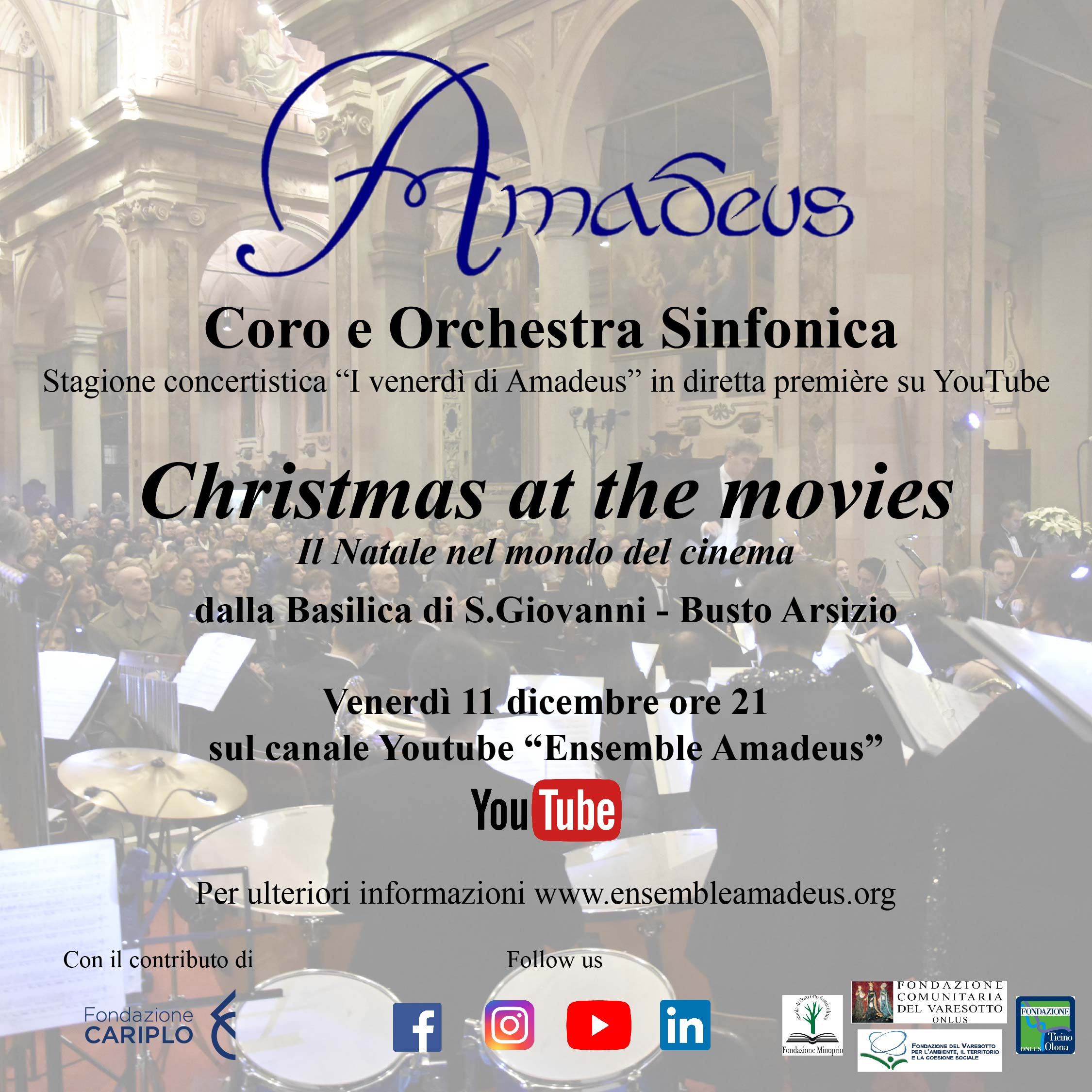 Christmas at the movies - Premiére Amadeus