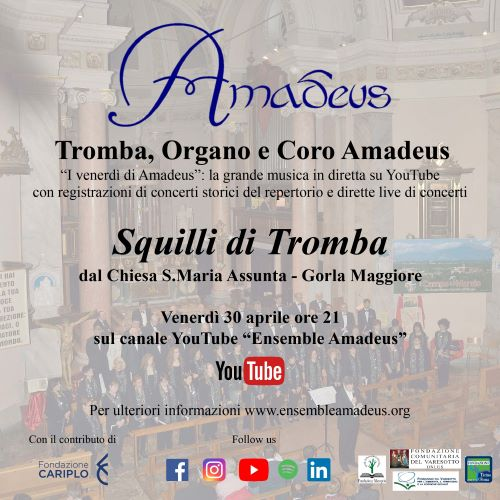 20210430 Squilli di Tromba (s)- Première Amadeus