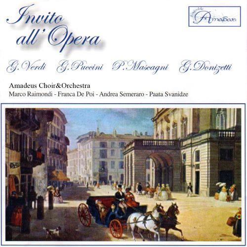 Invito all'Opera Amadeus